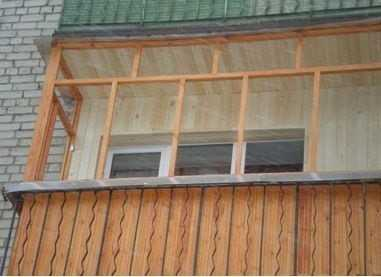 Конструкции балкона.