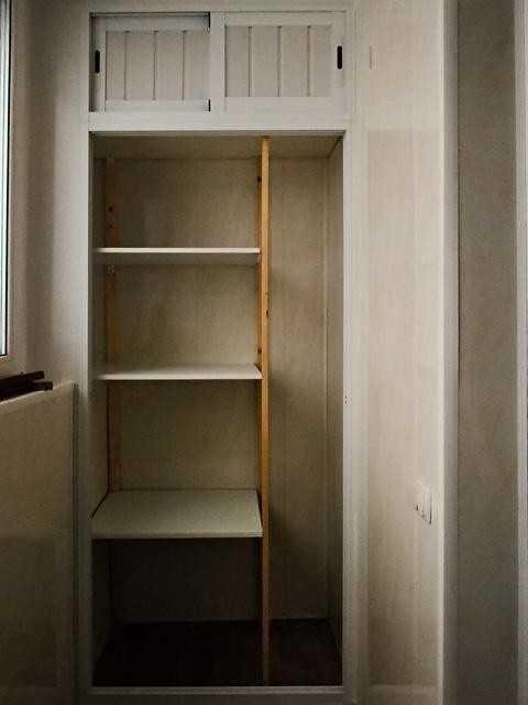 Балкон со встроенным шкафом