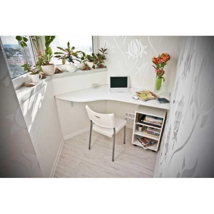"""Организация рабочего пространства на балконе"""" - карточка пол."""