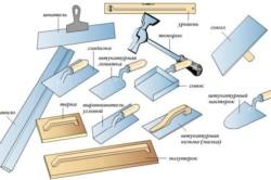 Инструменты для оштукатуривания балкона