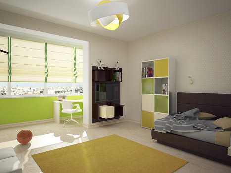 Подобная необходимость возникает у тех, кто живет в небольшой квартире, но хочет увеличить площадь одной из комнат. Обычно это гостиная, которая значительно расширяется за счет объединения лоджии и жилого пространства.