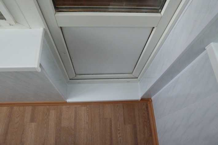 Как сделать порог с балконом