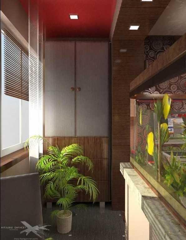Аквариум на балконе