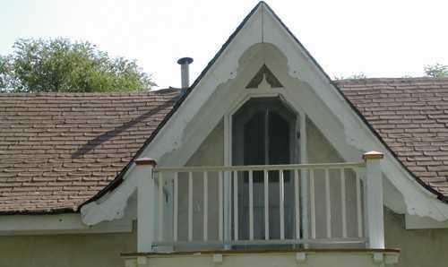 Окно в крыше с балконом фото..