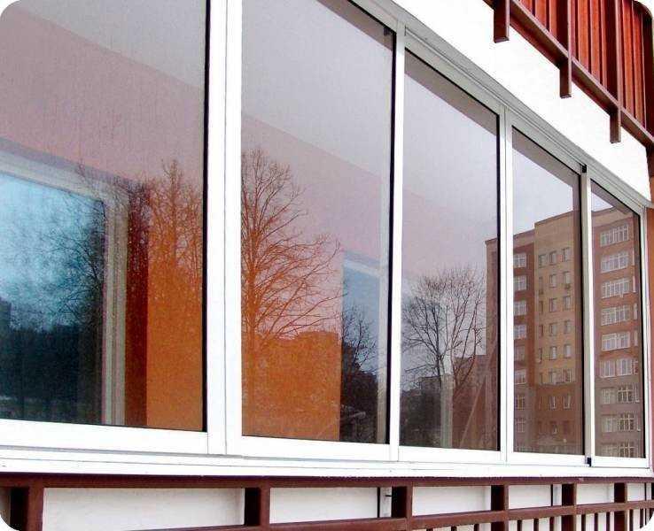 Балконные рамы - конструкция