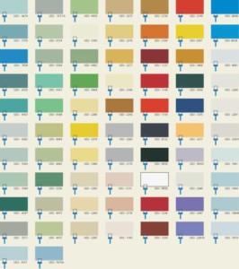 Цветовая гамма для бетонных поверхностей