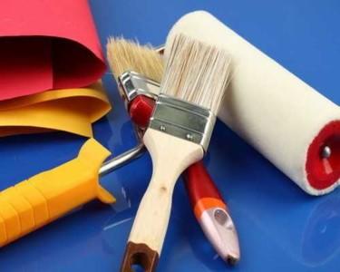 Материалы и инструменты для покраски балкона