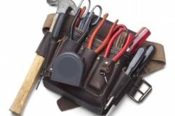 Необходимые инструменты: кусачки,плоскогубцы, ножовка, молоток, сверла.
