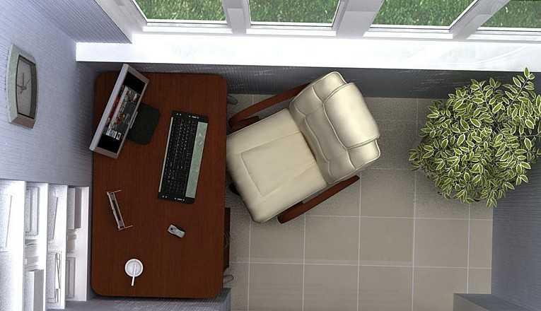 На балконе всегда можно устроить дополнительную жилую площадь, которой так часто катастрофически не хватает в наших квартирах.