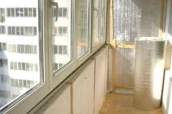 Утеплление балкона