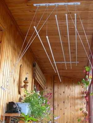 Веревки на балкон: виды и монтаж (фото).