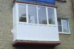 Остекленение балкона в хрущевке
