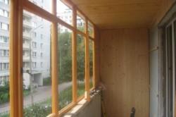 Установка деревянной рамы