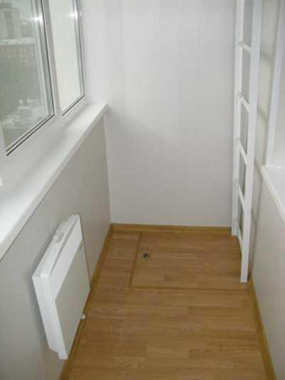 Балконный люк с лестницей