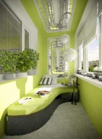 Балкон как зона отдыха