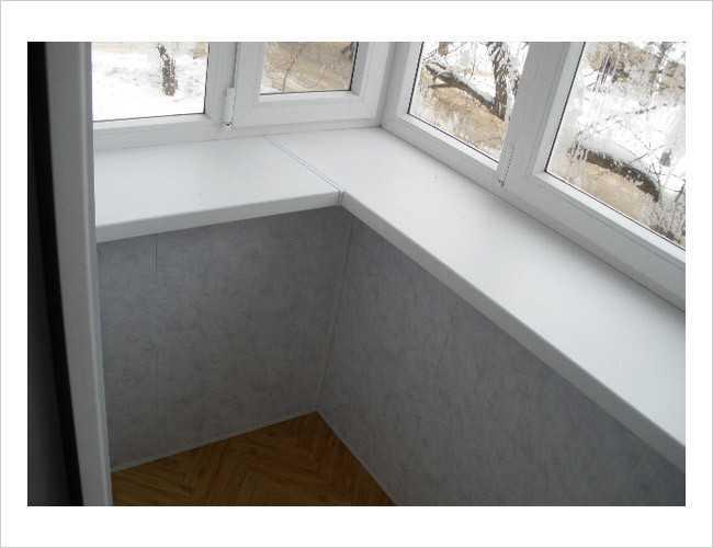 Установка подоконников на окна своими руками