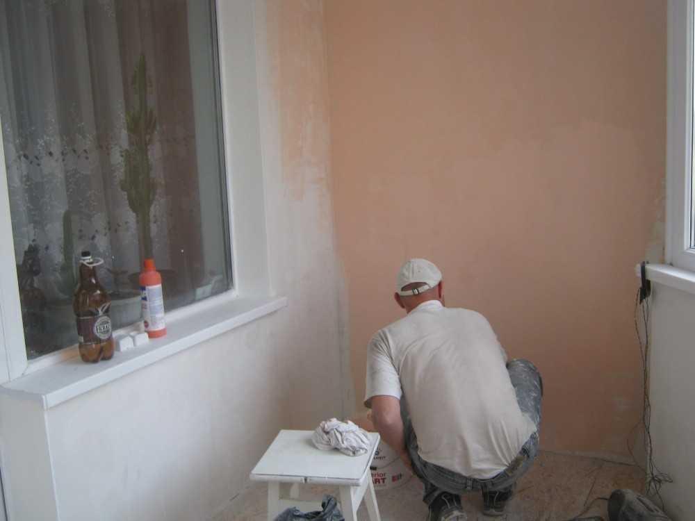 Балкон под покраску фото..