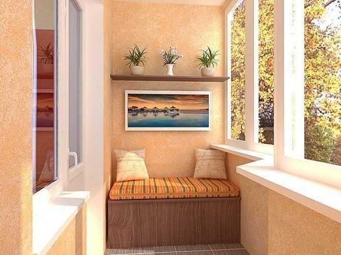 Обустройсво теплого балкона