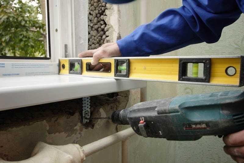 Установка деревянного подоконника своими руками