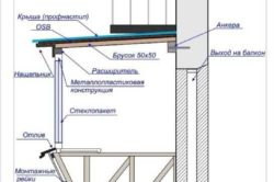 Расширение балкона по полу и подоконнику