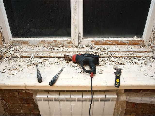 Ремонт деревянный окон своими руками 889