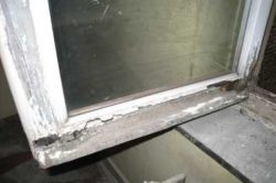 оценка изношенности рамы окна