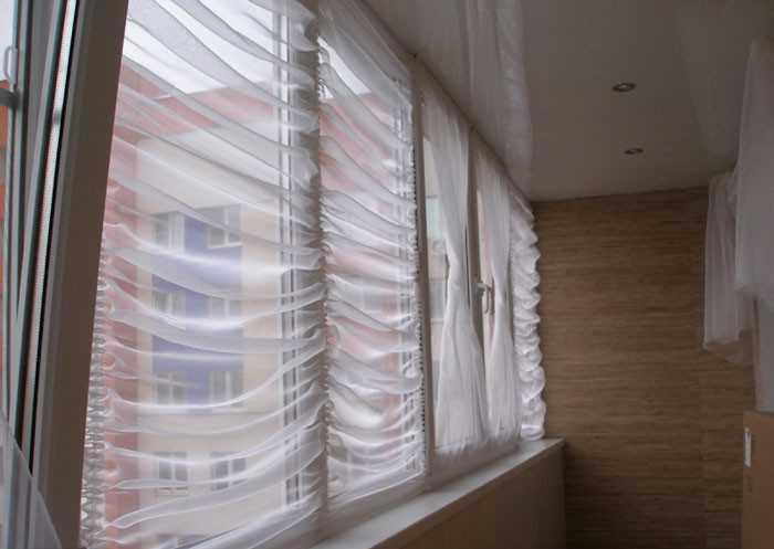 Шторы на балкон своими руками (28 фото как сделать и) 56