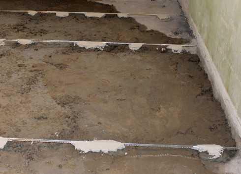 Как сделать пол в гараже из бетона своими руками