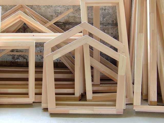 Оконные блоки деревянные