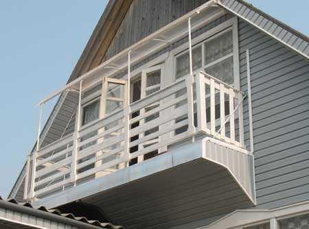 Балкон своими руками.