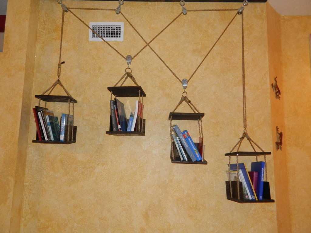 Полочки на стену своими руками: основные идеи, план работы