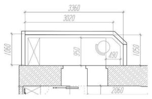Размеры балкона