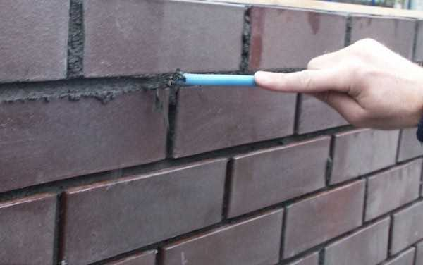 Реконструкция кирпичной стены