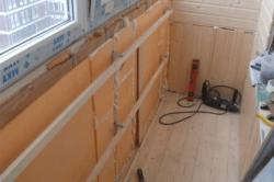 Подготовка стен балкона к штукатурке