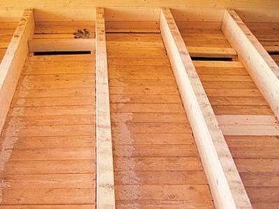 Создание пароизоляции для деревянного пола