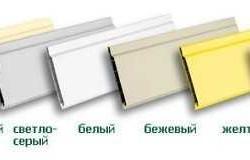 Разнообразие цветовой палитры пластиковых панелей