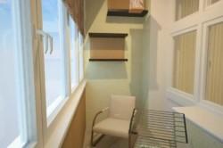 Балкон под место для отдыха