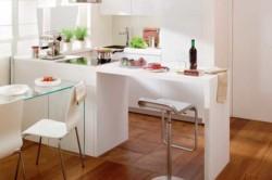 Дизайн кухни 9 кв.м со сносом стены