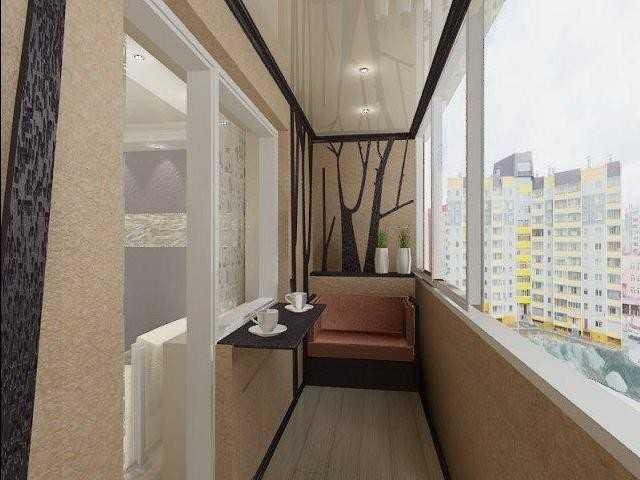 Дизайн балкона в хрущевке.