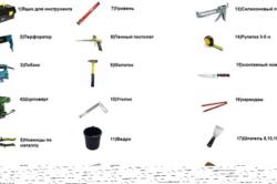 Инструменты для пластиковых откосов