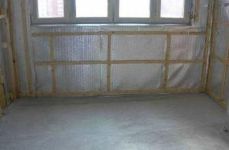 Как правильно утеплить балкон изнутри пенофолом