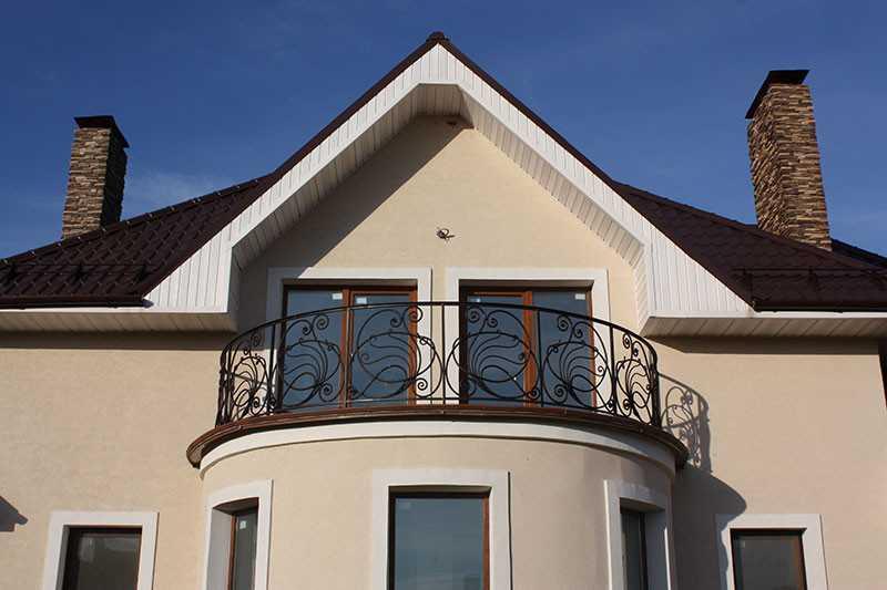 Балкон круглой формы
