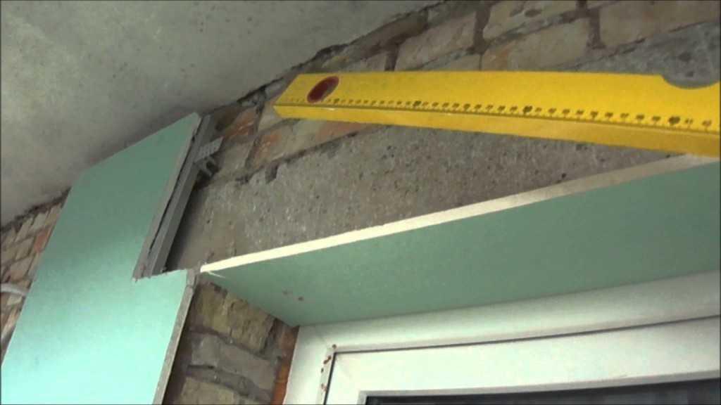 Монтаж верхней панели