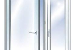 Первый тип металлопластиковых окон - с обычным поворотным способом открывания.