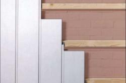 Крепление панелей на деревянный каркас