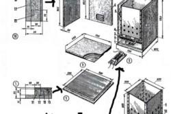 Схема овощехранилища