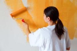 Покраска стен несложный процесс