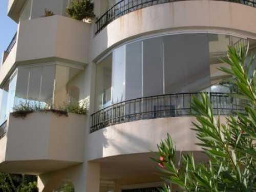 Полукруглый балкон - это стильно