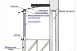 Расширение балкона по полу