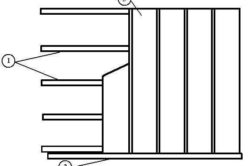 Схема монтажа пластиковой вагонки